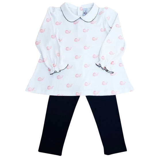Whale Watch Tunic and Legging Set