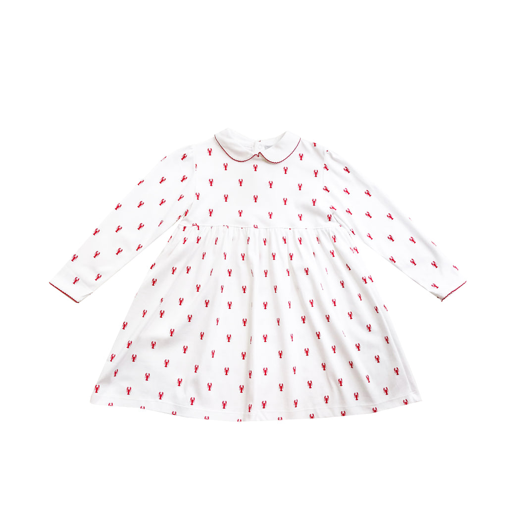 New England Lobster Pima Play Dress