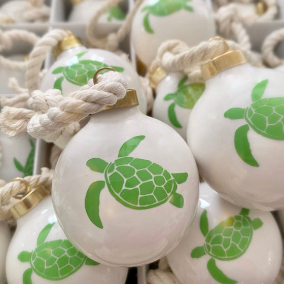 Sea Turtle Holiday Ornament