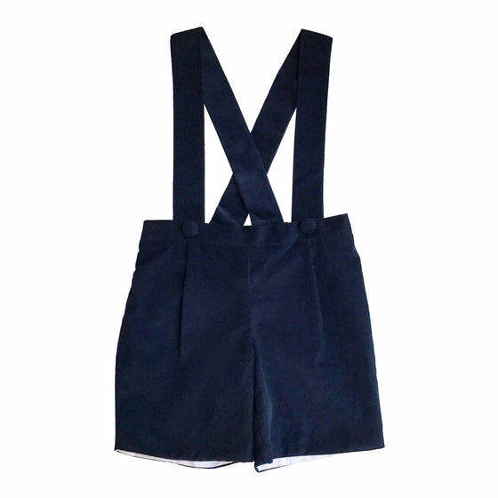 Samuel Suspender Shorts