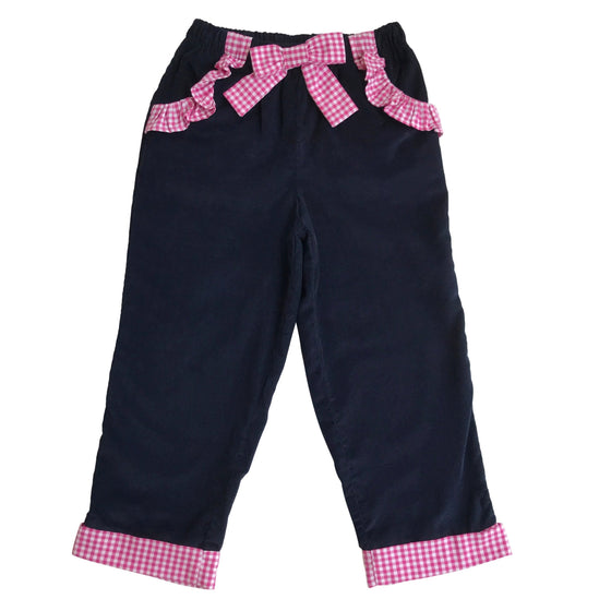 Pretty Prep Pants-Nautical Navy