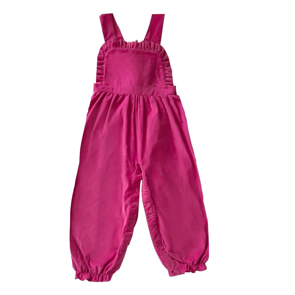 Lillian Longall-Hot Pink Corduroy