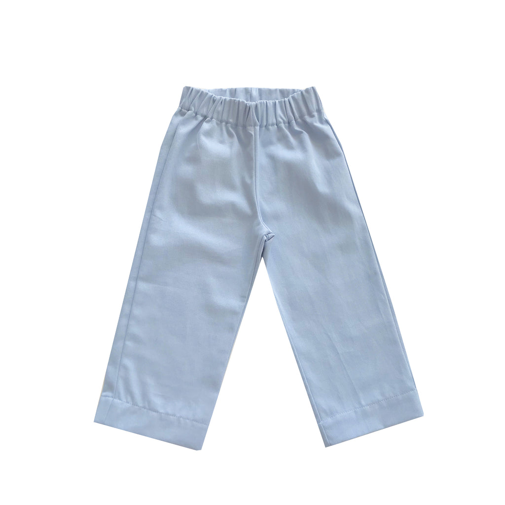Cisco Trousers-Chatham Bars Blue