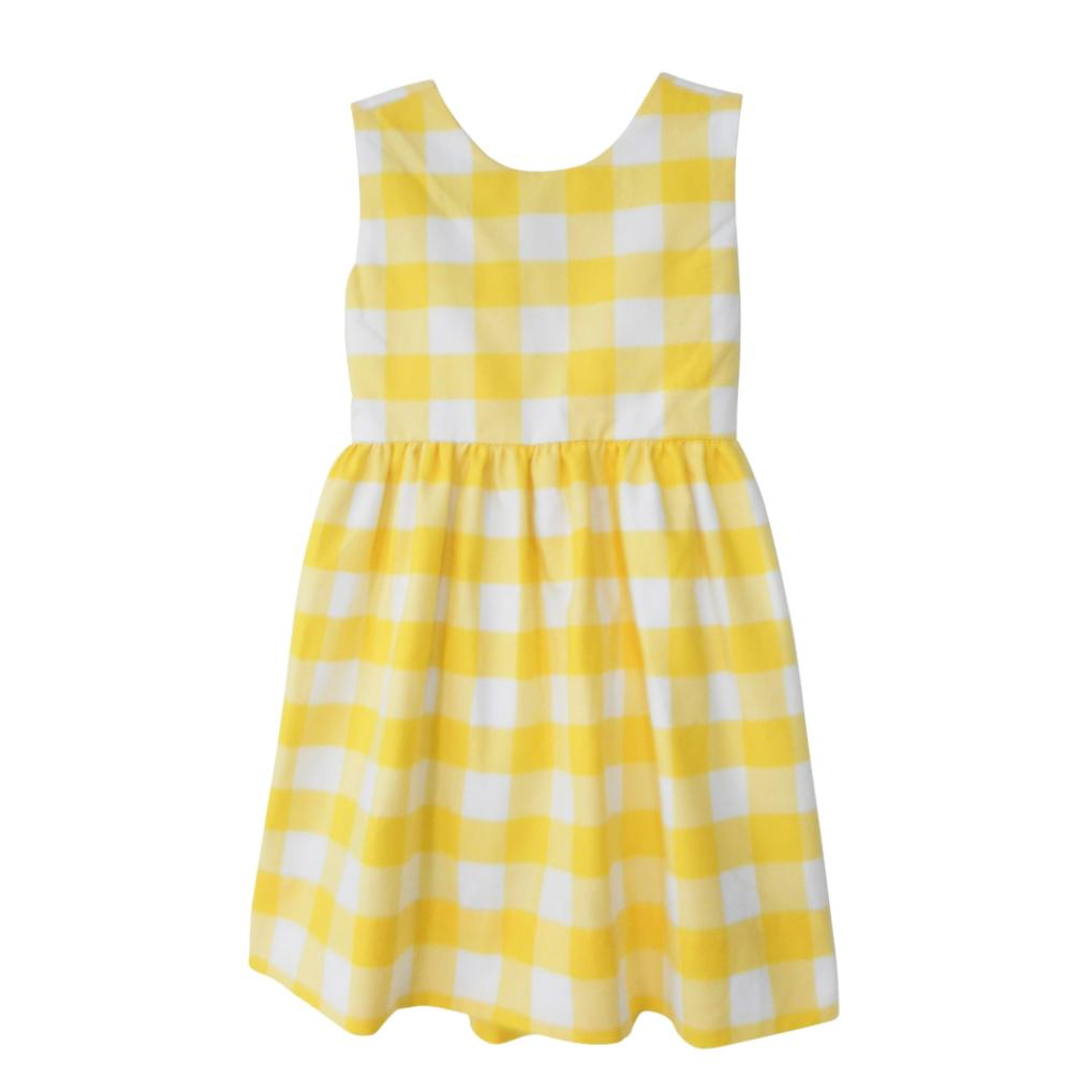 Jetties Dress-Ocean House Gingham