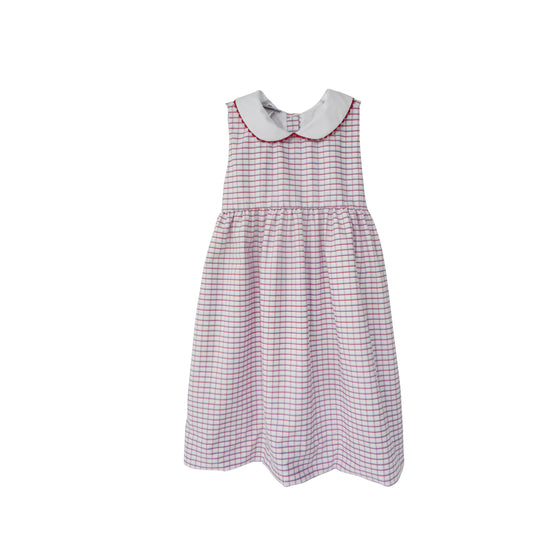 Picnic Dress-Americana Check