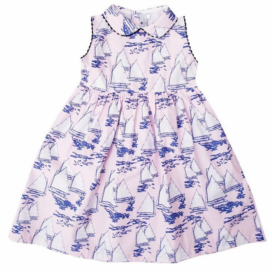 Atlantic Cup Dress-Pink