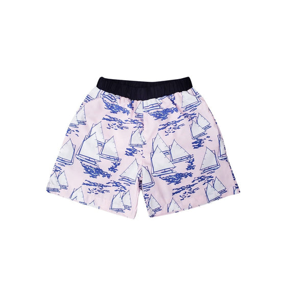 Atlantic Cup Swim Trunks-Pink