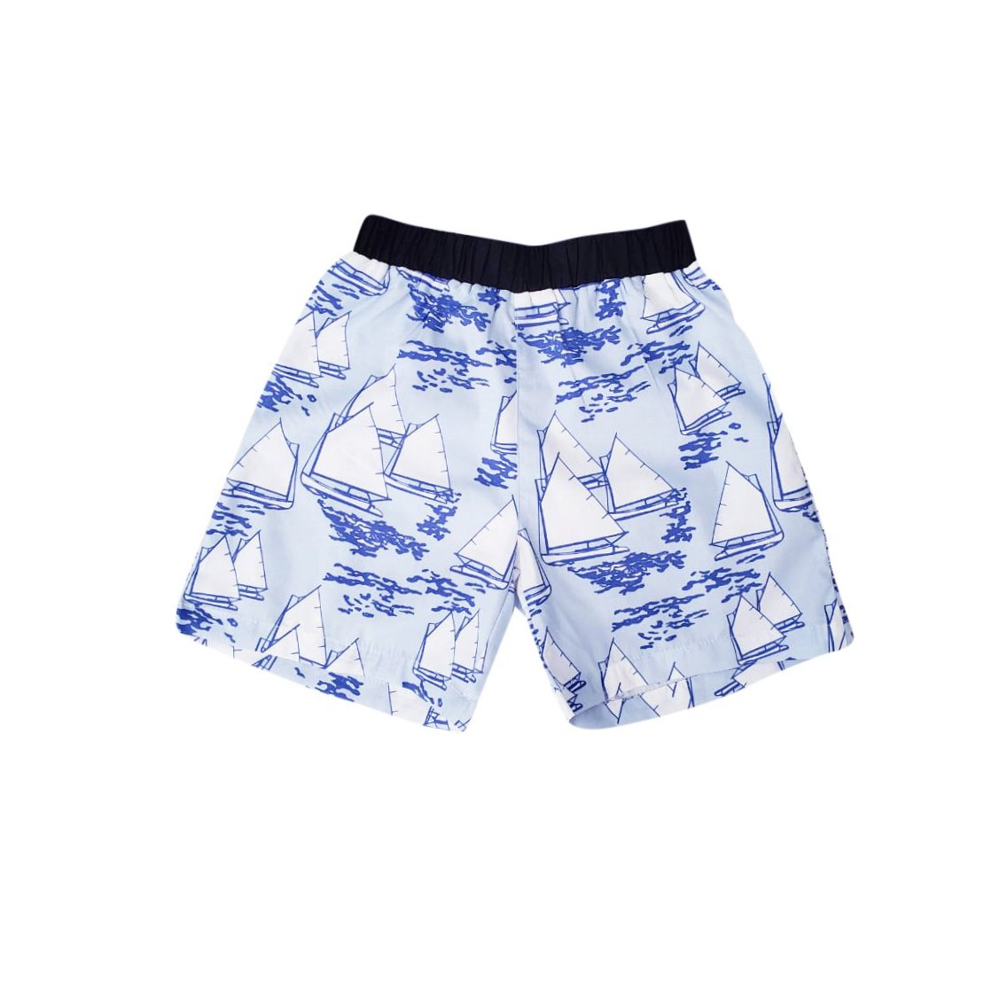Atlantic Cup Swim Trunks-Blue