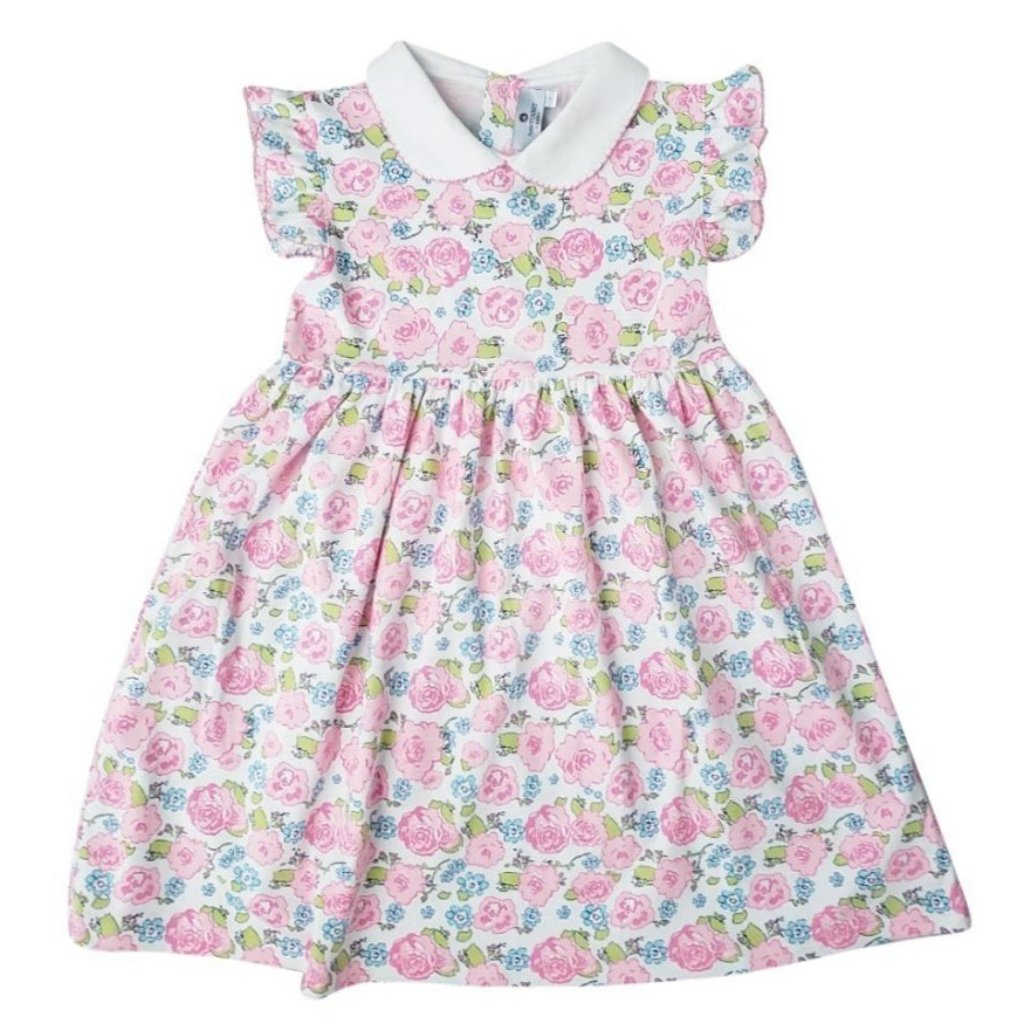 Nellie Dress in English Garden