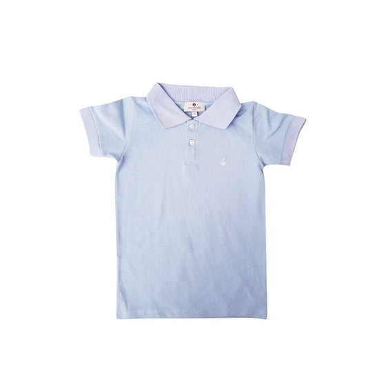 Set Sail Pique Polo-Baby Blue