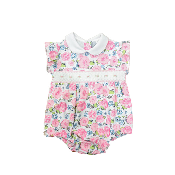 English Garden Smocked Bubble