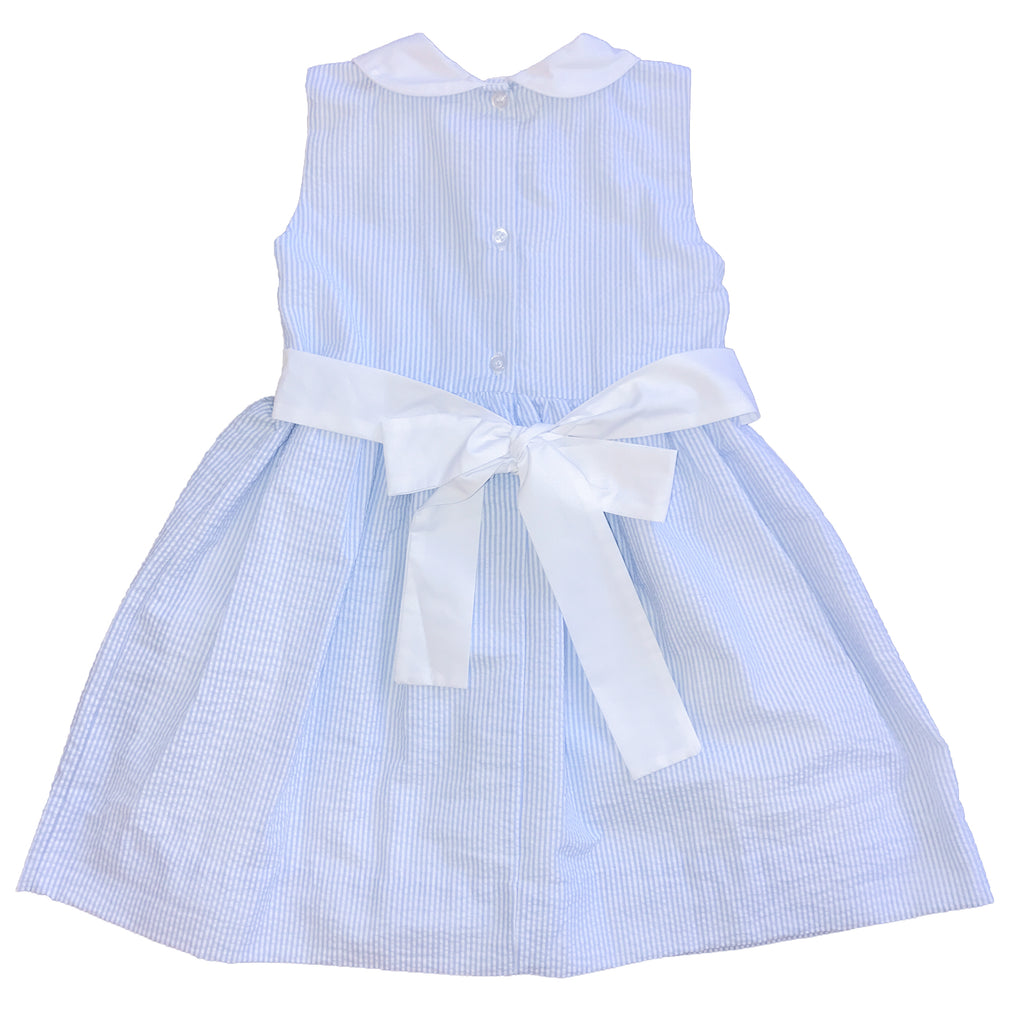 Hydrangea Smocked Dress