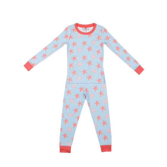 Starfish Pima Jammies 2-Piece Set