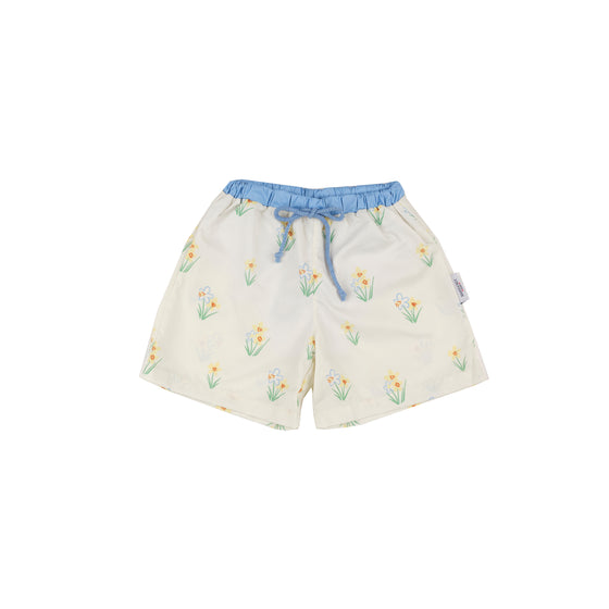 Happy Daffy Swim Trunks