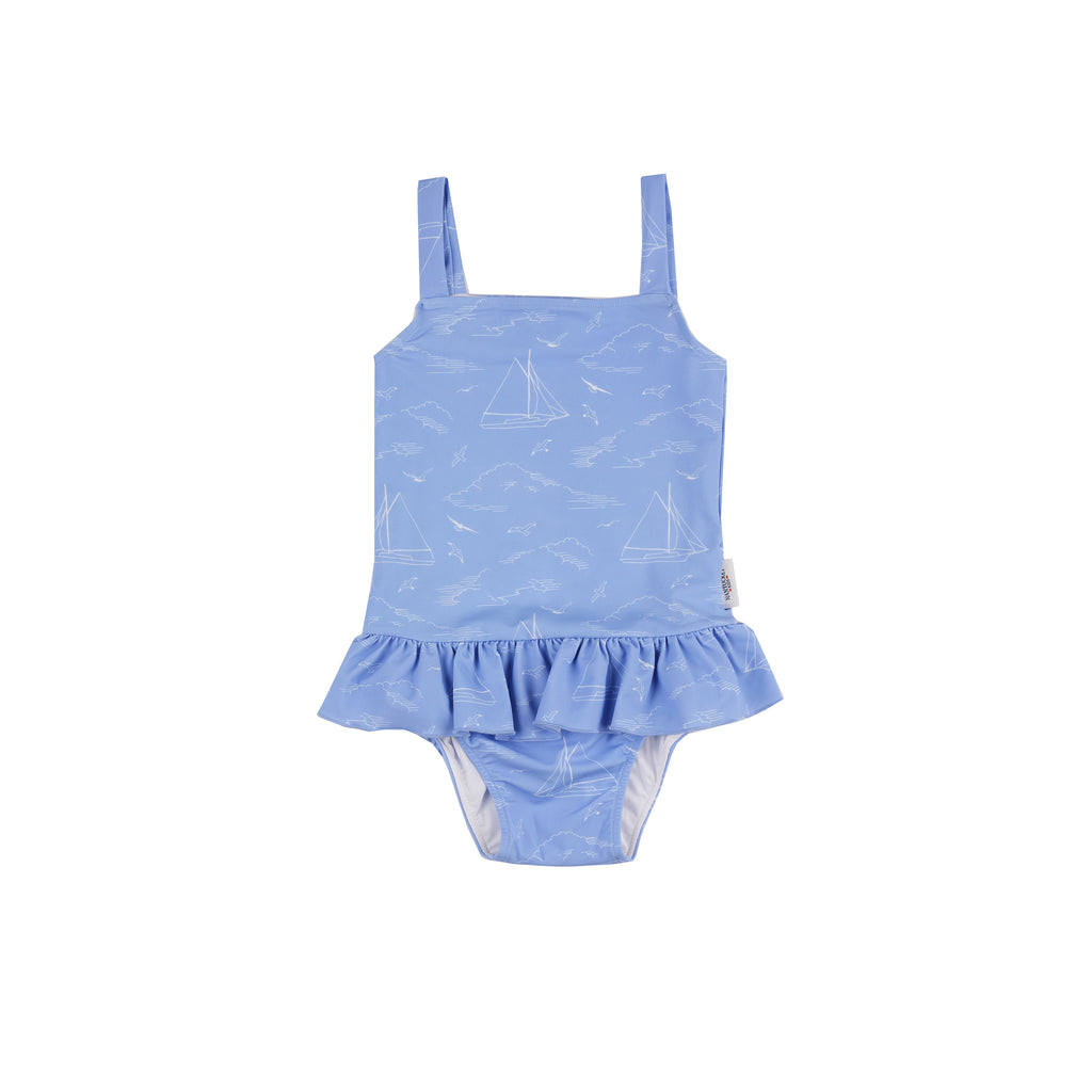 Seas the Day Swimsuit-Periwinkle