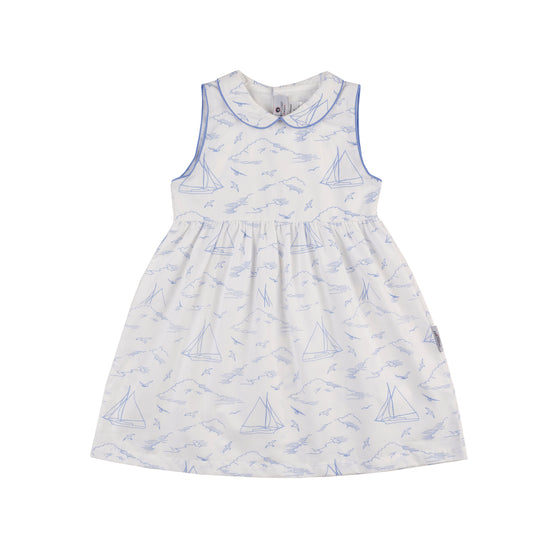 Seas the Day Poplin Play Dress