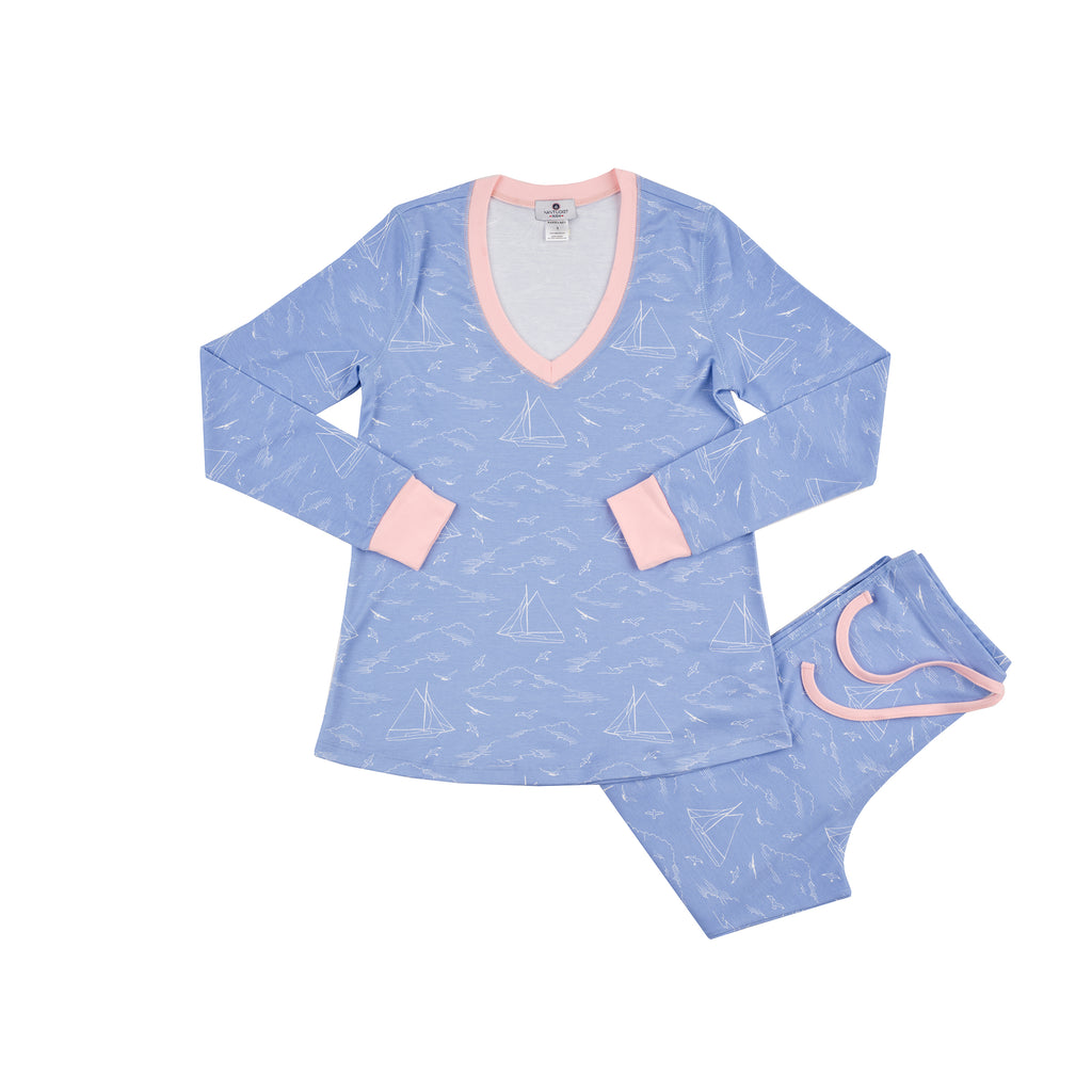 Women's Seas the Day Pajama Set