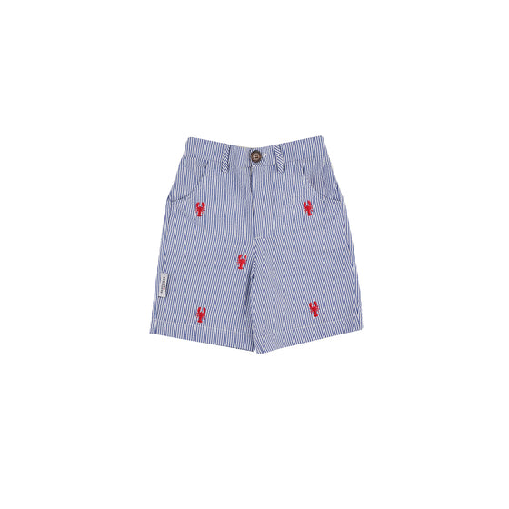 New England Lobster Seersucker Shorts
