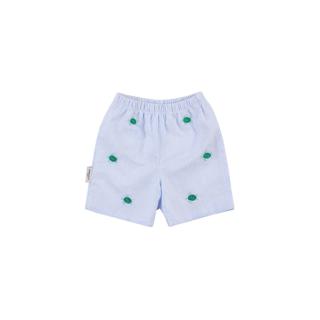 Sea Turtle Seersucker Shorts