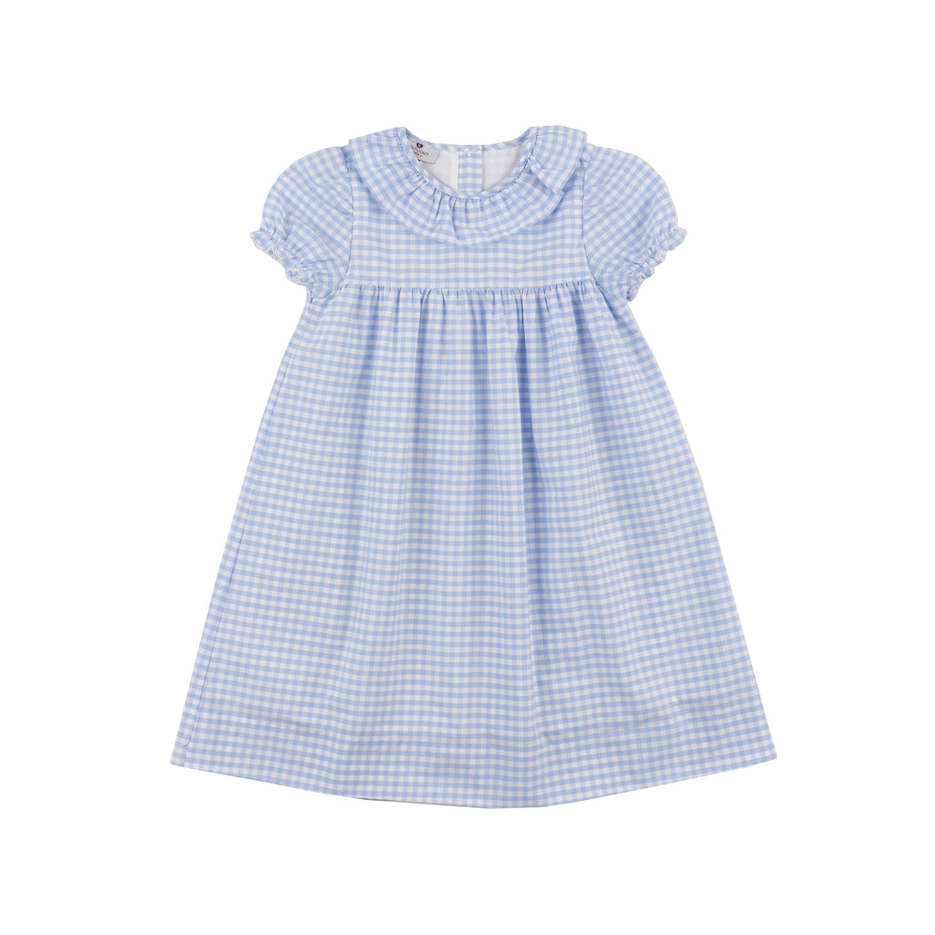Collins Dress-Chatham Bars Blue Gingham