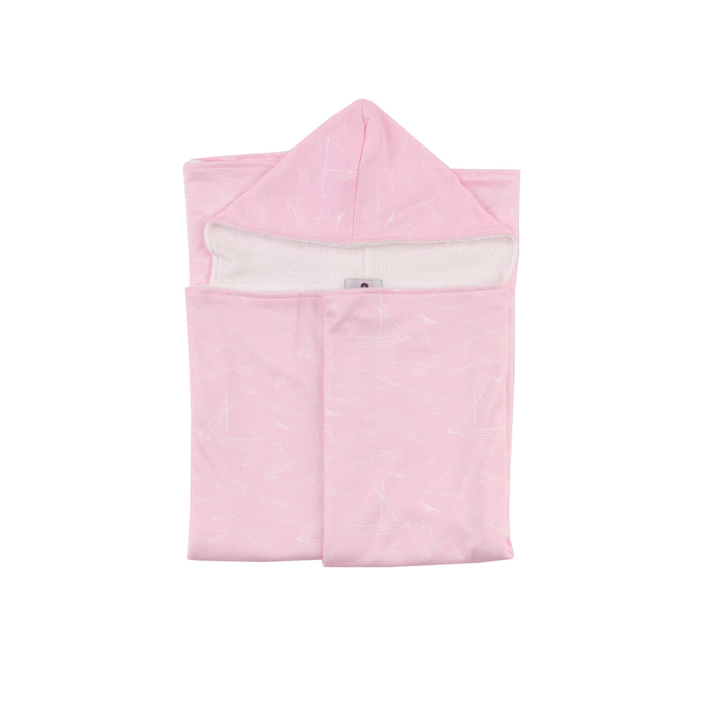 Seas the Day Oversized Hooded Towel- (Cherry Blossom)