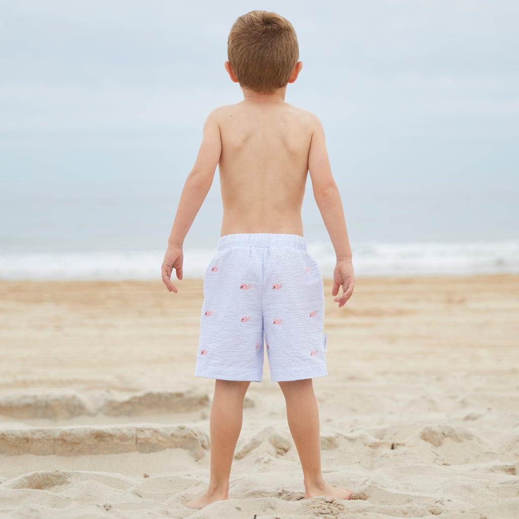 Whale Watch Swim Trunks