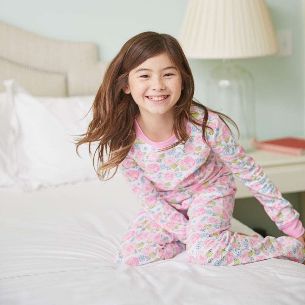 English Garden Pima 2-piece Jammies