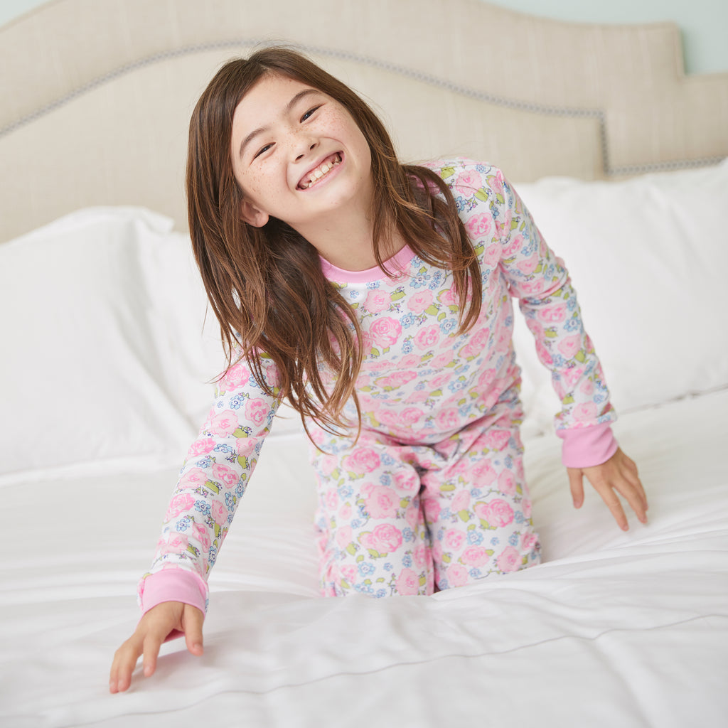 English Garden Pima Jammies-2 Piece Set
