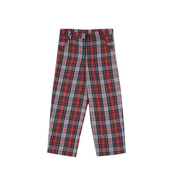 Heathered Holiday Tartan Trousers