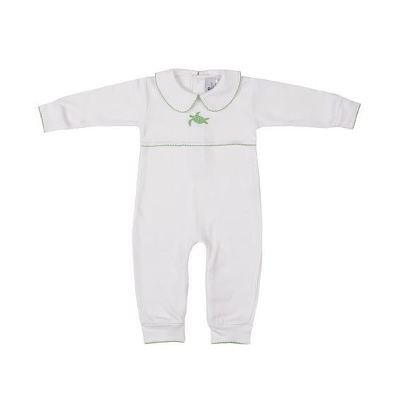 Sea Turtle Pima Romper