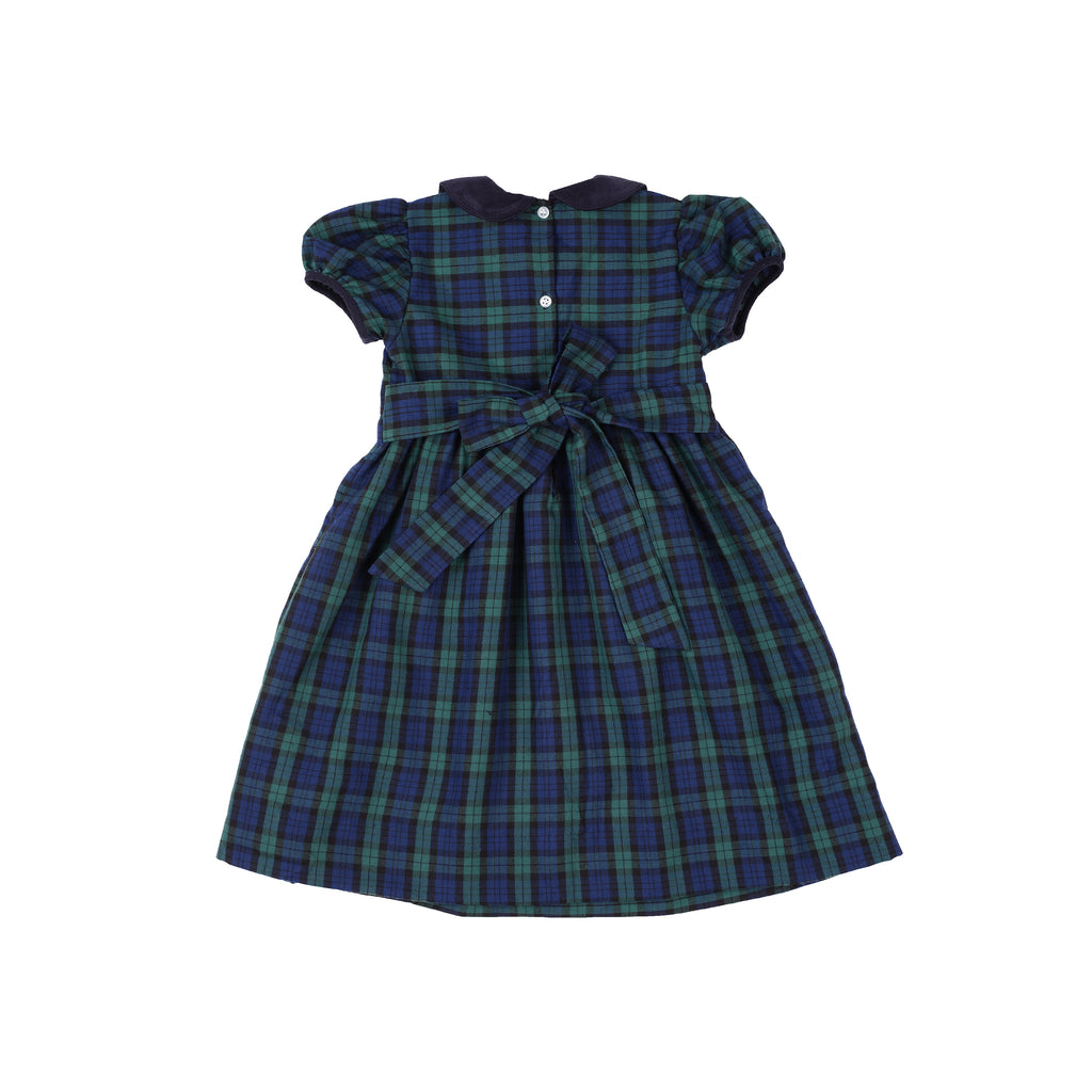 Noelle Dress-Provincetown Plaid