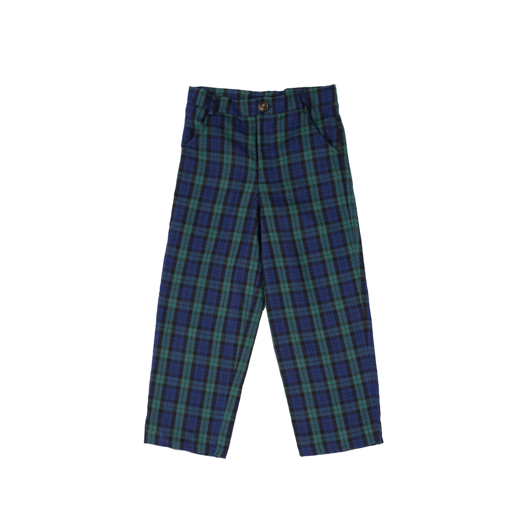 Provincetown Plaid Trousers