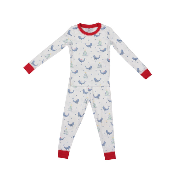 Seas and Greetings Pima Jammies 2-Piece Set