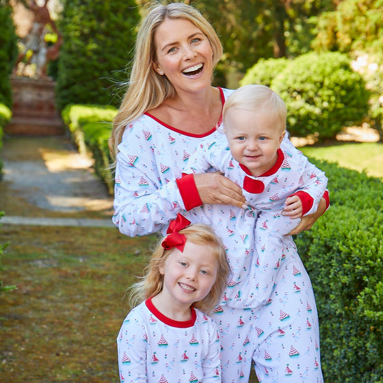 Women's High Seas Holiday Pima Pajamas