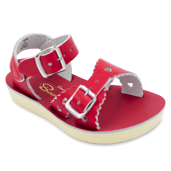 Sun-San Sweetheart Sandals-Red
