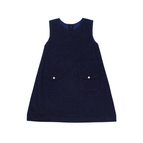 Chloe Corduroy Jumper-Nautical Navy