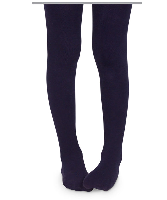 Pima Cotton Tights-Nautical Navy