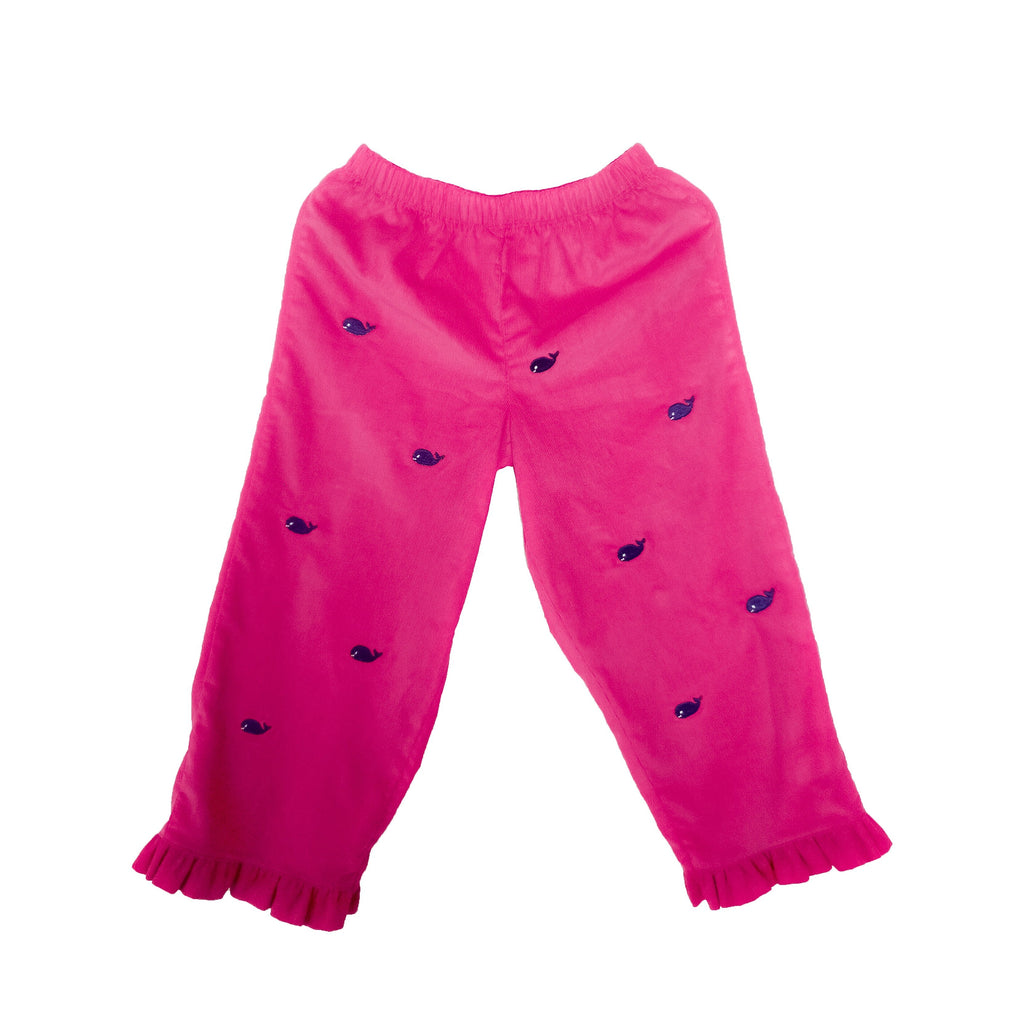 Whale Watch Ruffle Pants