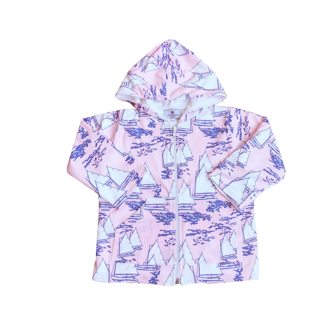 Atlantic Cup Beach Jacket-Pink