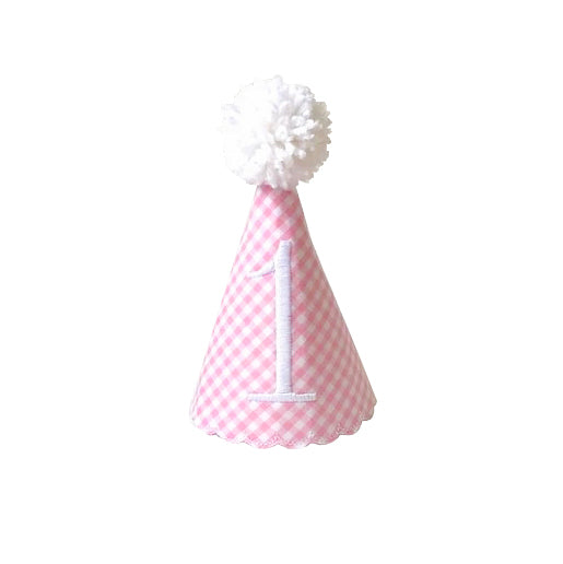 Preppy Pink Party Hat