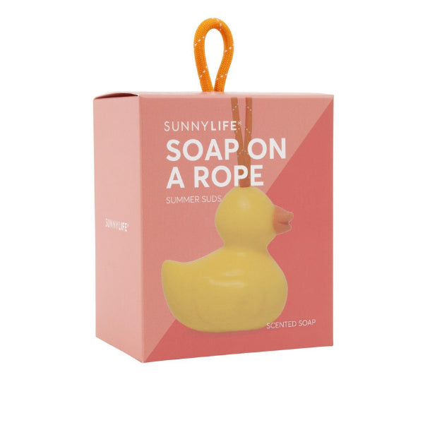 SUNNYLIFE DUCKY SOAP ON A ROPE
