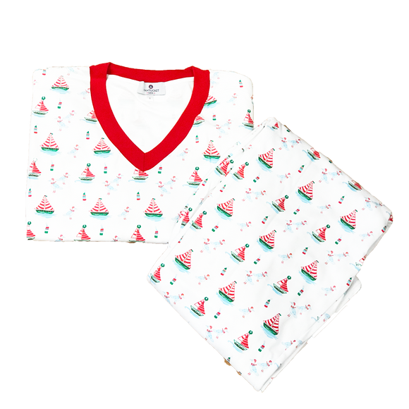 Men's High Seas Holiday Pajamas