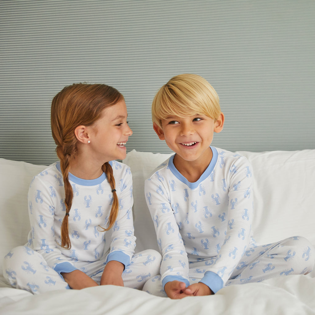 New England Lobster Pima Jammies 2-Piece Set
