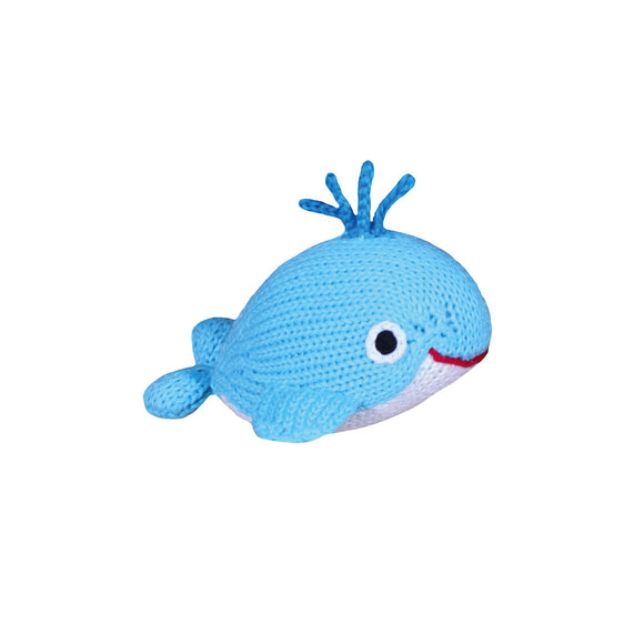 "Watson the Wee Little Whale 6"" Rattle"