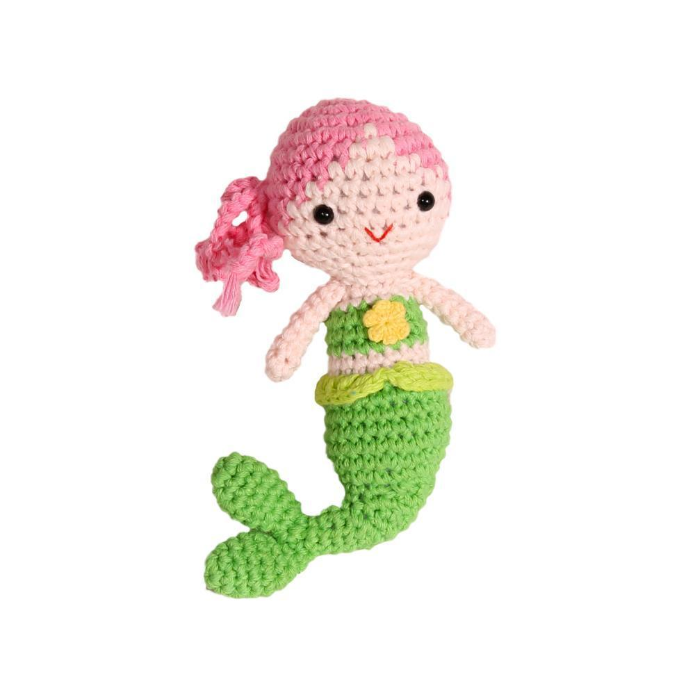 Nantucket Kids Mermaid Rattle