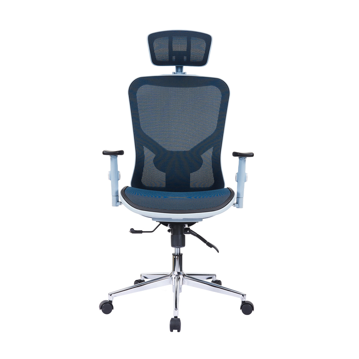 High Back Executive Mesh Office Chair with Arms, Headrest and Lumbar Support
