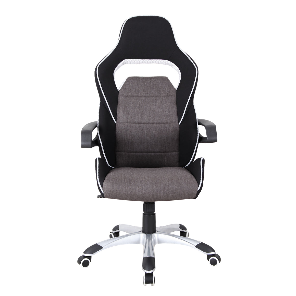 Ergonomic Upholstered Racing Style Home & Office Chair