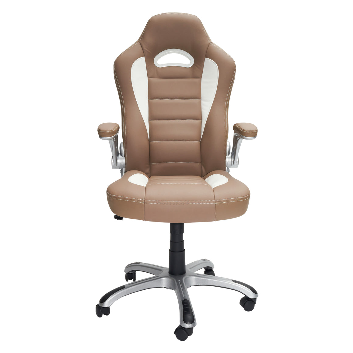 High Back Executive Sport Race Office Chair with Flip-Up Arms