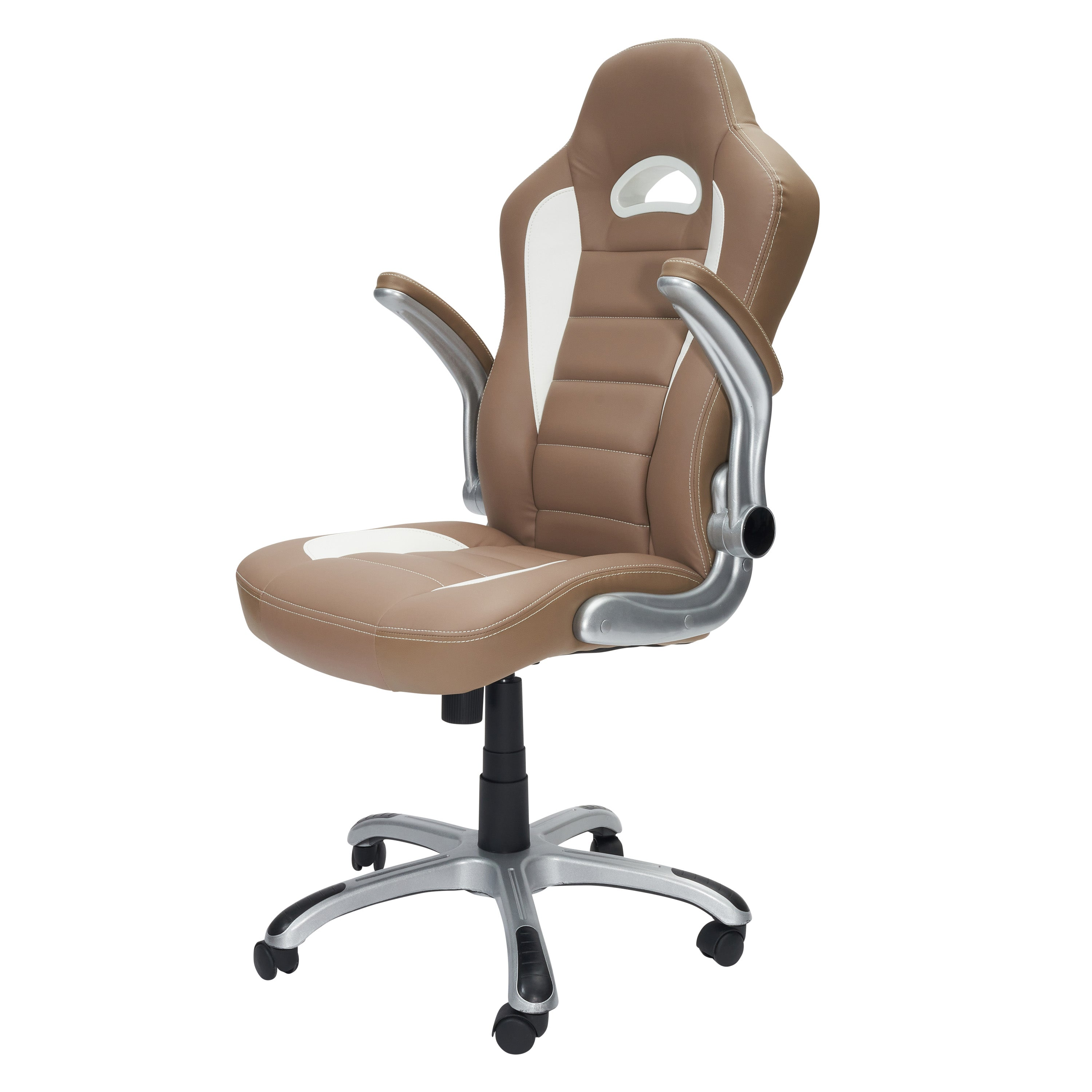 Awe Inspiring High Back Executive Sport Race Office Chair With Flip Up Arms Dailytribune Chair Design For Home Dailytribuneorg