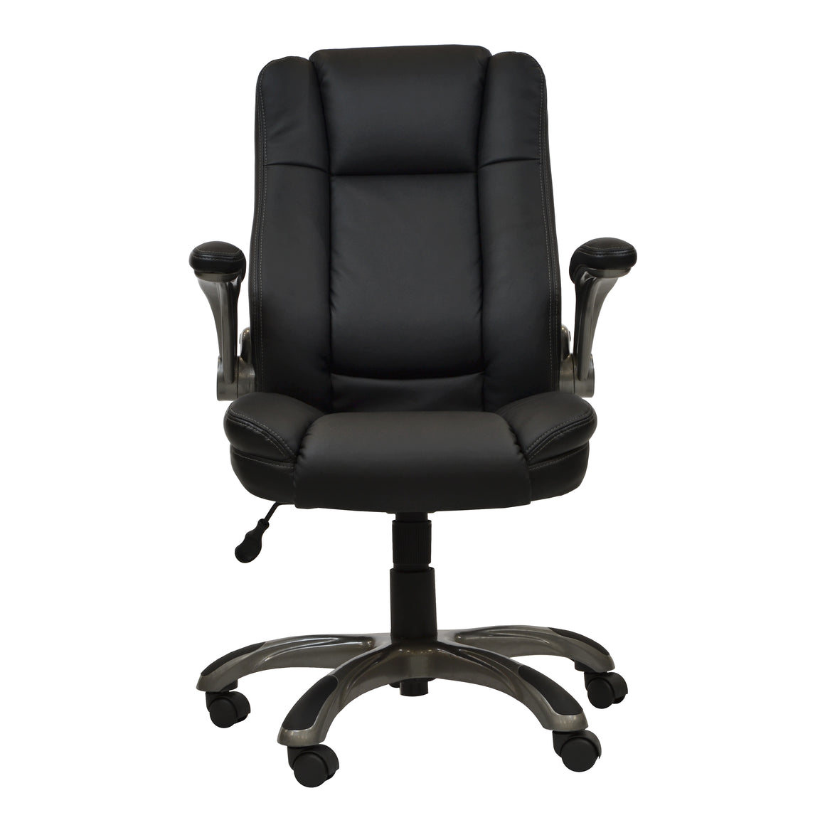 Medium Back Executive Office Chair with Flip-up Arms